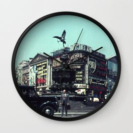 Piccadilly Circus 1961 Wall Clock