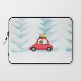 Christmas scene Laptop Sleeve