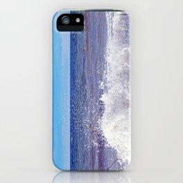Wave Crashing onto the Beach iPhone Case