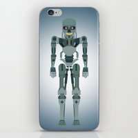 vector iPhone & iPod Skins featuring Terminator Vector by TIERRAdesigner