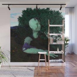 Gaia's Portrait Wall Mural