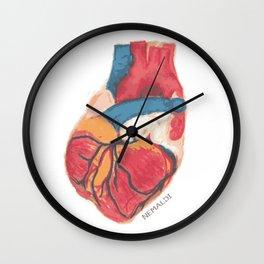 Pumping Heart Wall Clock