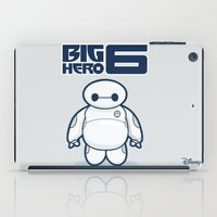 baymax iPad Cases featuring BAYMAX by bimorecreative