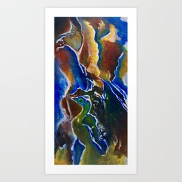 Good Luck Series: A vibrant glory Art Print