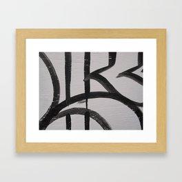 Linework 2 Framed Art Print