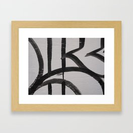 Linework 2 Framed Art Print