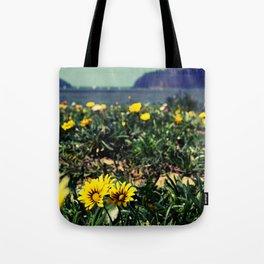 Seaside flowers Tote Bag