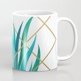 Modern Succulent - metallic accents Coffee Mug