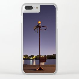 Evening On The Pier Clear iPhone Case