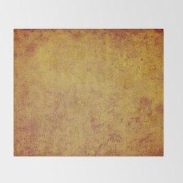 vintage retro style wall background,  stone texture Throw Blanket