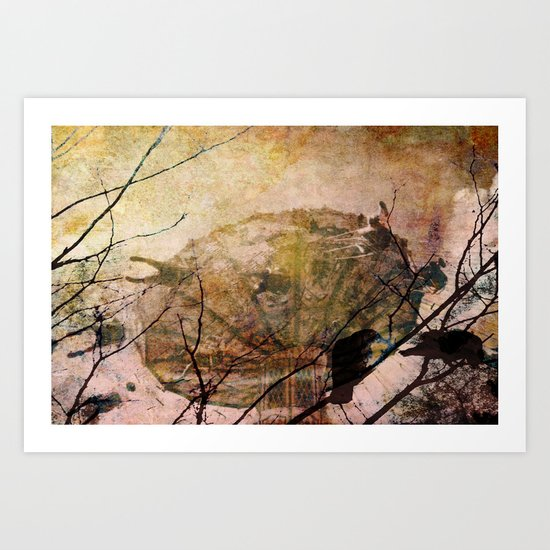 Dreams of Yesterday Art Print
