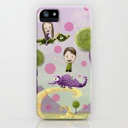 Pink Bubbles iPhone Case