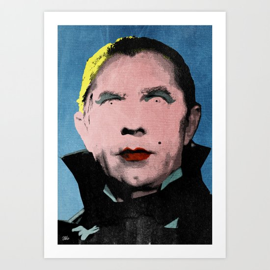 The Dazzling Dracula Art Print