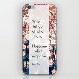 Daily Meditation Quote iPhone Skin