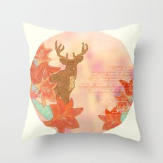 He Leads Throw Pillow