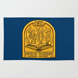 Fire Department 451 Rug