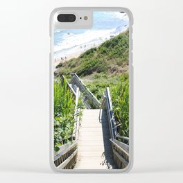 Last of the Mohegans Clear iPhone Case