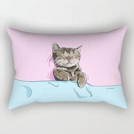 Sleeping Cat Rectangular Pillow