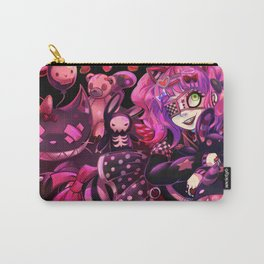 Dark Deco Carry-All Pouch
