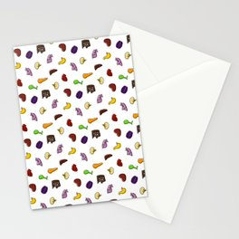 Organs, in Technicolor Stationery Cards