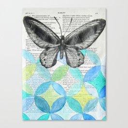 Enter Ophelia Canvas Print
