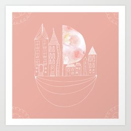 Sailing House Art Print