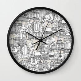 NOTTINGHAM CHAMPAGNE Wall Clock