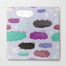 Slugs and Stars Metal Print