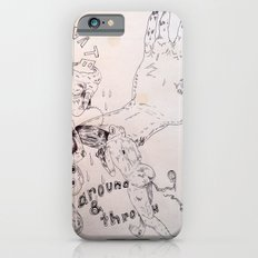 over around under and through iPhone 6s Slim Case