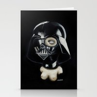 boob Stationery Cards featuring Boob Vader by Nataliette