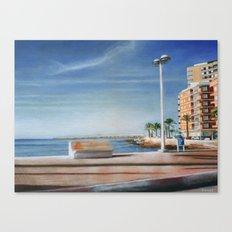 Spanish Coast Canvas Print