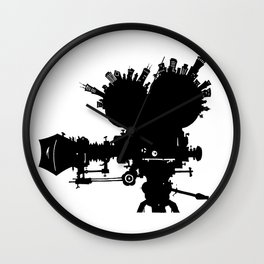 The Second City of Angels Wall Clock