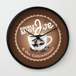 Doubleshot Joe Wall Clock