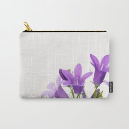 PURPLE FLOWERS - Bellflowers #2 #decor #art #society6 Carry-All Pouch