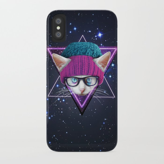 big sale 71ed9 8b095 Tumblr Cat iPhone Case by nickart
