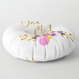 One of a kind - Flower Collection Floor Pillow