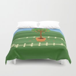 Hearty Topiary Duvet Cover