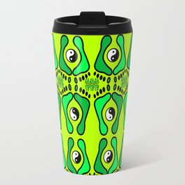 green feets Travel Mug