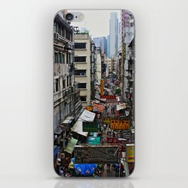 Hong Kong streets iPhone Skin