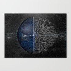Circle Organization Canvas Print
