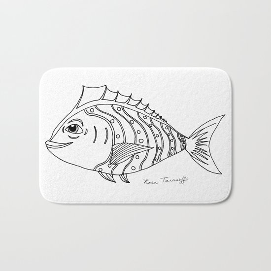 Catch of the Day Bath Mat