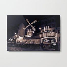 Paris by Night Metal Print