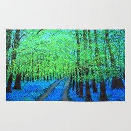 Bluebell woods  Rug