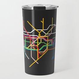 london metro map Travel Mug