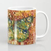 moth Mugs featuring Moth by S.G. DeCarlo