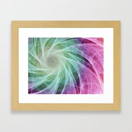 Whirlpool Diamond 2 Computer Art Framed Art Print