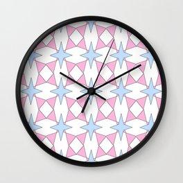 symetric patterns 30 -mandala,geometric,rosace,harmony,star,symmetry Wall Clock