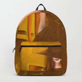 Autumn ball gown Backpack