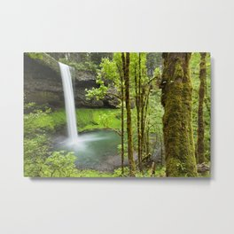 South Falls in the Silver Falls State Park, Oregon, USA Metal Print