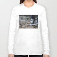 converse Long Sleeve T-shirts featuring Converse by AJ Calhoun